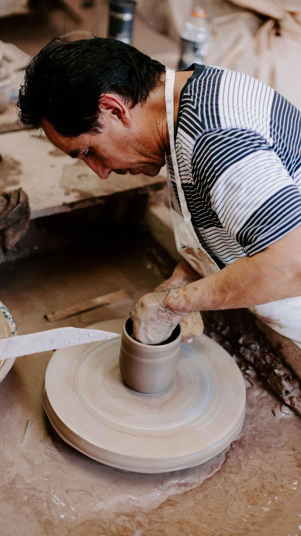 Makers of Hand-Turned Stoneware in Marshall, TX - Martinez